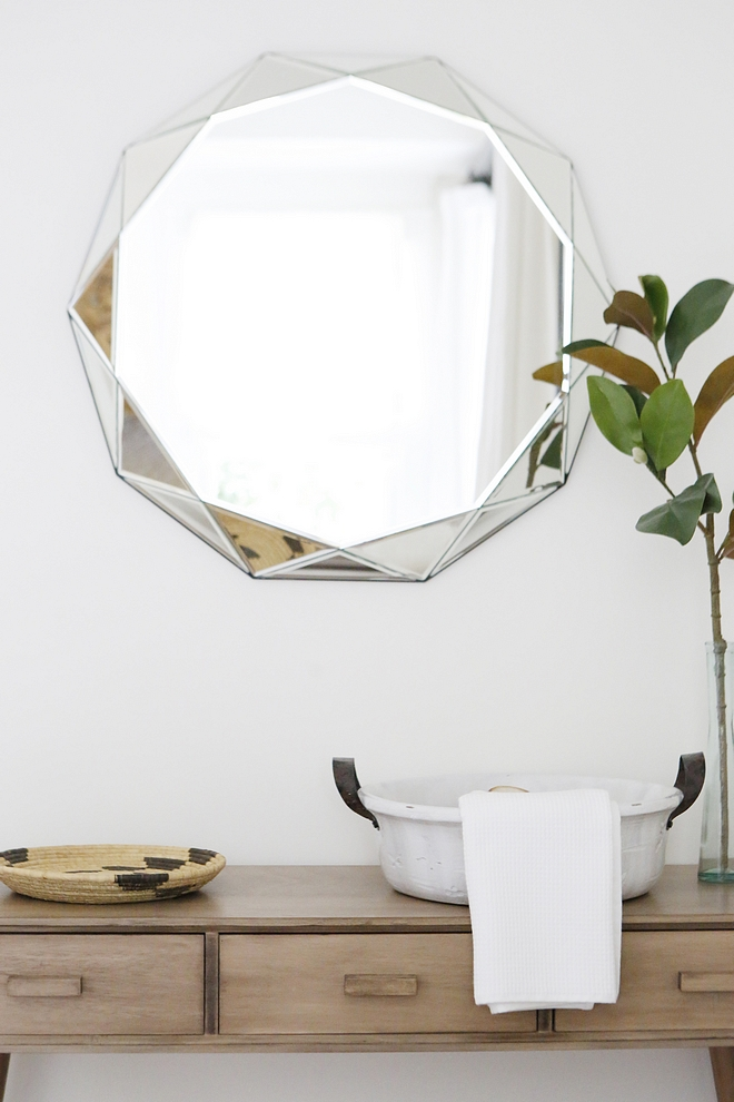 Faceted Mirror Faceted Mirror source on Home Bunch Faceted Mirror #FacetedMirror #Mirror