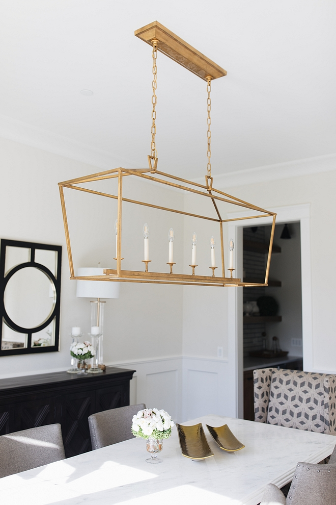 Gilded Iron Linear Chandelier Classic Gilded Iron Linear Chandelier over dining table Gilded Iron Linear Chandelier Gilded Iron Linear Chandelier #GildedIronLinearChandelier #GildedIron #LinearChandelier