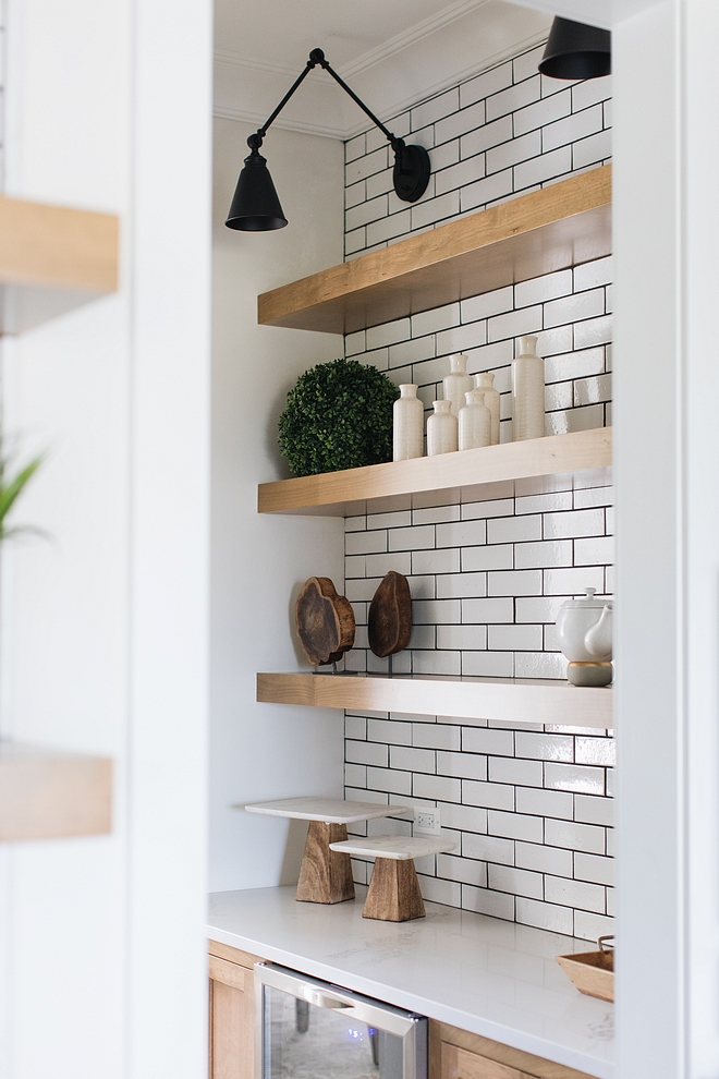 Floating shelves Kitchen Floating shelves Thick Floating shelves ideas Floating shelves Floating shelf #Floatingshelves