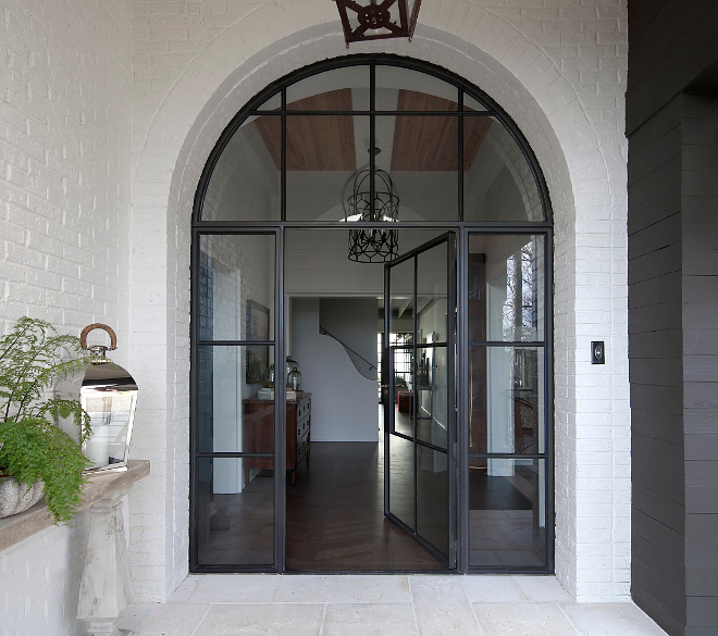 Arched Front Door Metal and glass Arched Front Door Black Metal Front Door Black Metal and glass Arched Front Door #Metalandglassfrontdoor #metalfrontdoor #ArchedFrontDoor #FrontDoor