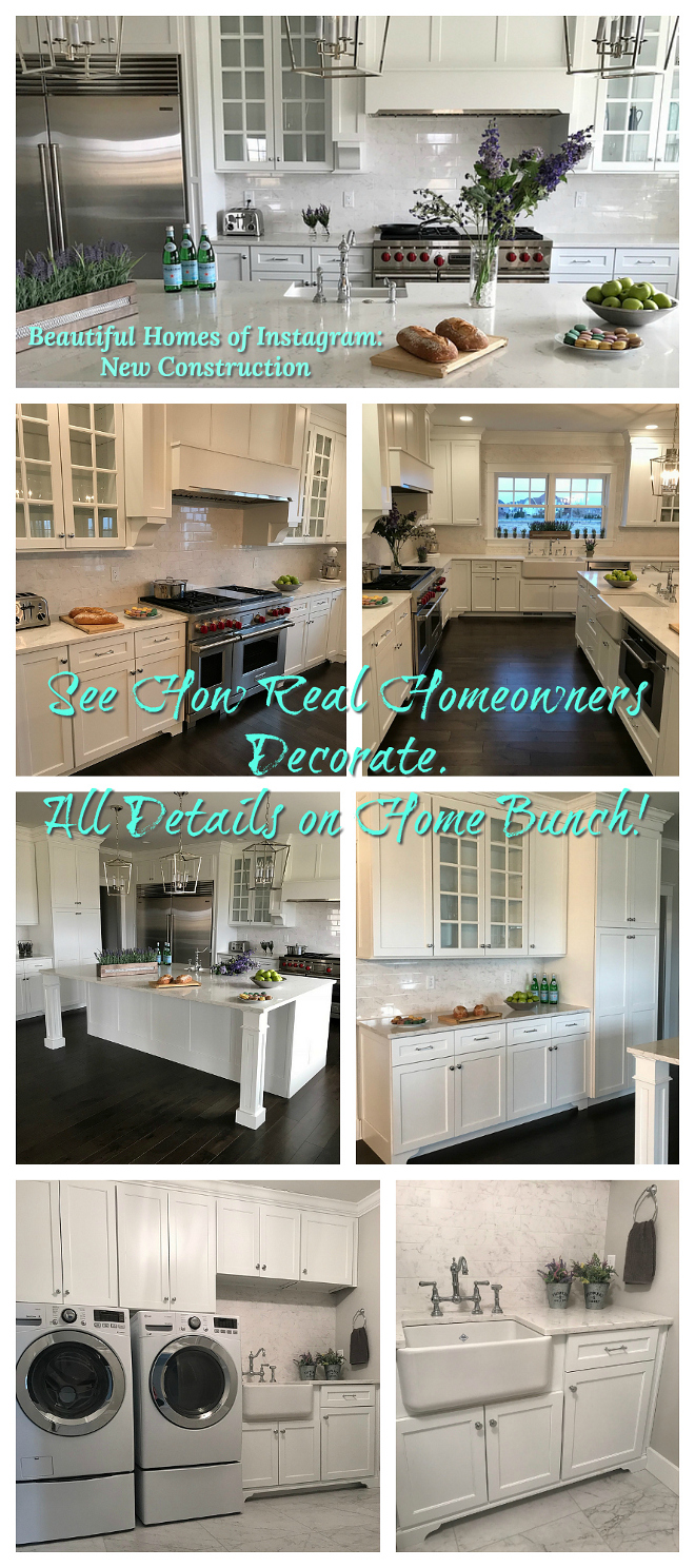 Beautiful Homes of Instagram New Construction See How Real Homeowners Decorate All Details on Home Bunch
