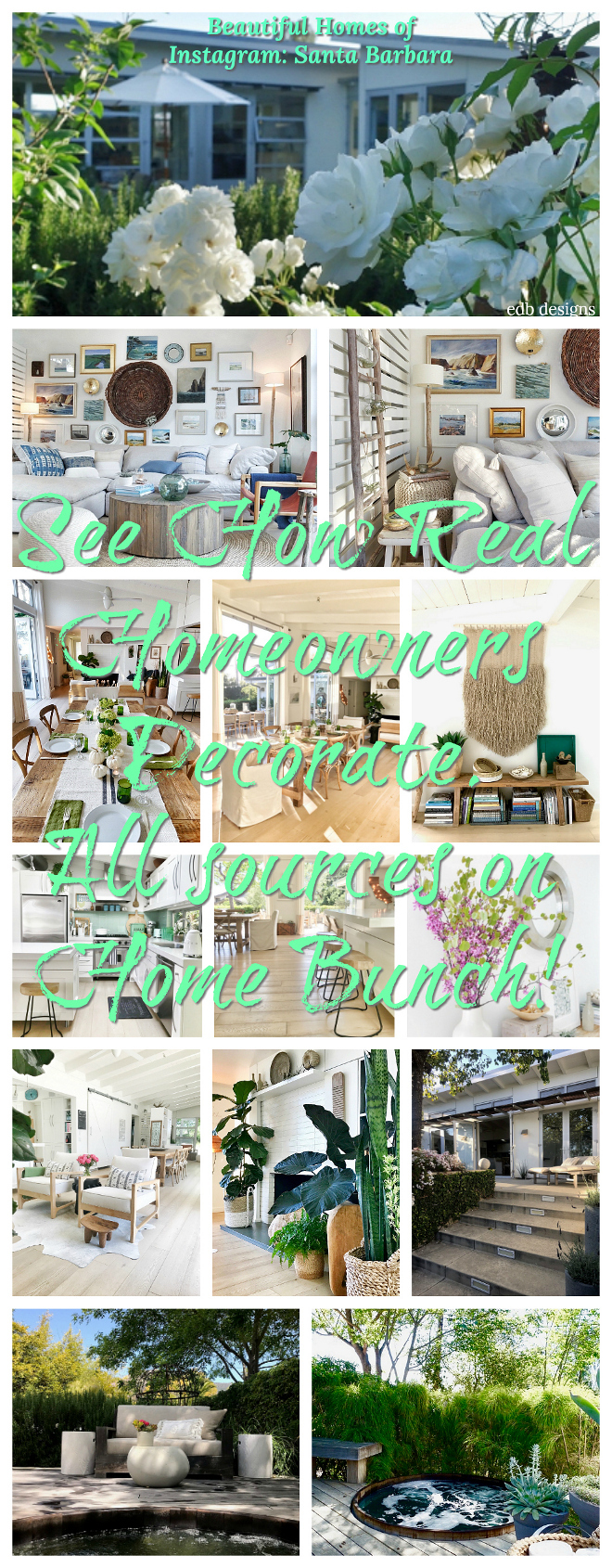 Beautiful Homes of Instagram Santa Barbara Home Bunch Blog series