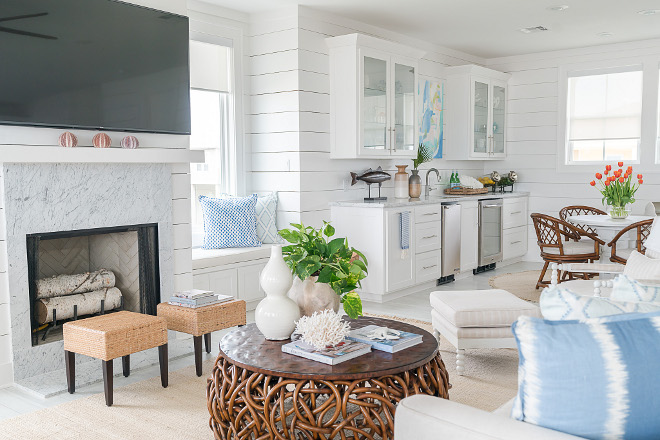 Coastal Farmhouse Decor: Texas Gulf Coast Beach House