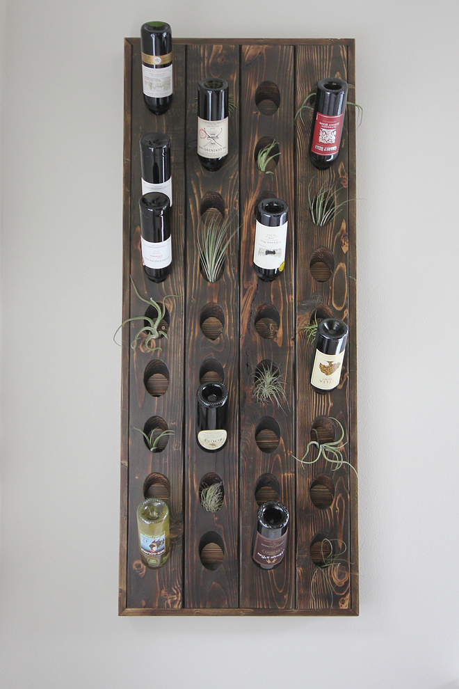DIY Wooden Wall Planter Wine Holder DIY DIY Wooden Wall Planter Wine Holder DIY Ideas #DIYWoodenWallPlanter #DIYWineHolder #DIY