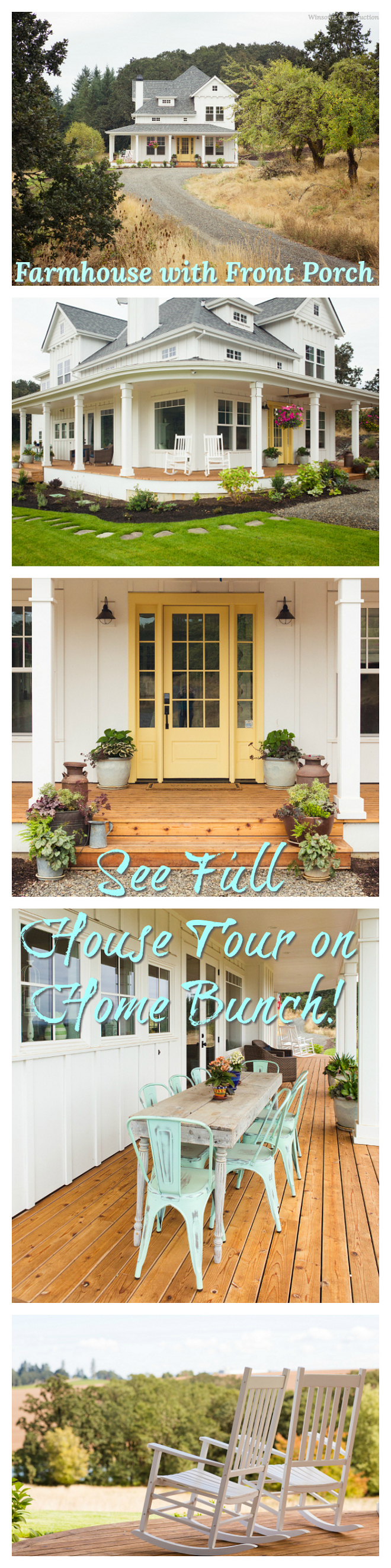 Farmhouse with Front Porch Farmhouse with Front Porch Farmhouse with Front Porch Farmhouse with Front Porch #FarmhouseFrontPorch