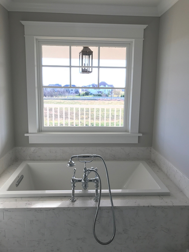 Repose Gray SW 7015 Sherwin Williams Grey bathroom paint color Repose Gray SW 7015 Sherwin Williams Repose Gray SW 7015 Sherwin Williams #ReposeGray #SW7015 #SherwinWilliams