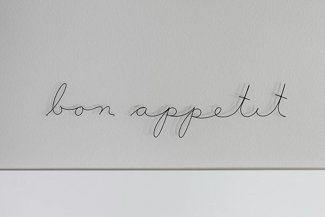 Bon Appetit Wire Art Kitchen wall art ideas Bon Appetit Wire Art #BonAppetit #wallArt