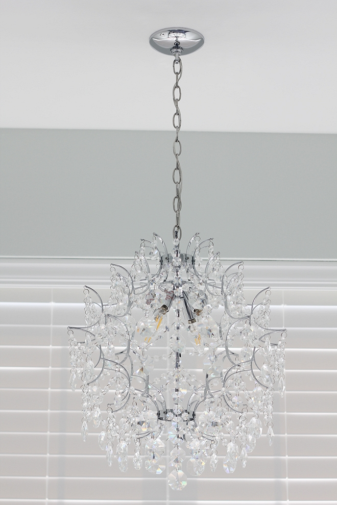 Crystal Chandelier Great size for bathrooms powder rooms Crystal Chandelier ideas Crystal Chandelier #CrystalChandelier