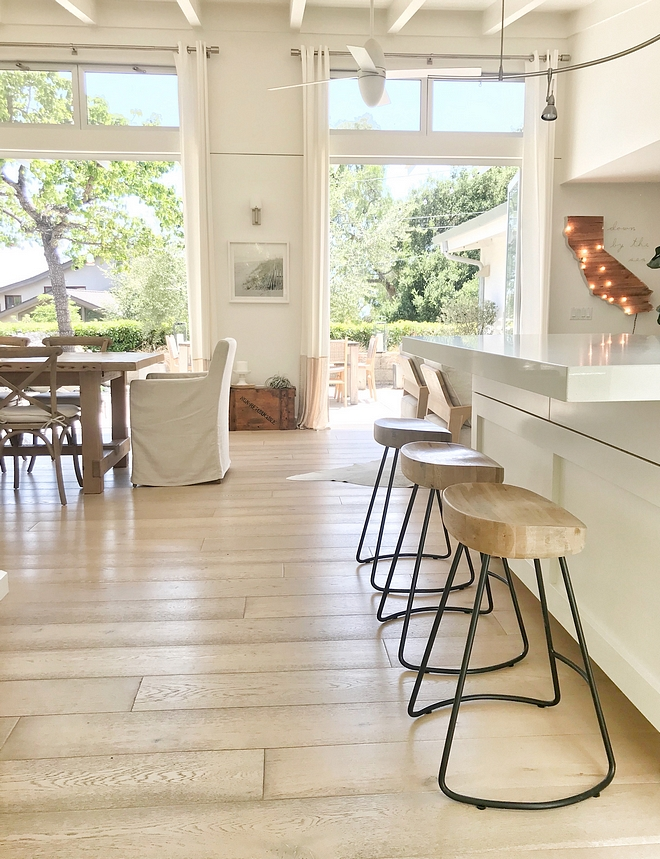 "Hardwood flooring light hardwood flooring Floors throughout are 7.5"" wide engineered oak wide plank hardwood flooring #lighthardwoodflooring #whiteoakhardwoodflooring #hardwoodflooring"