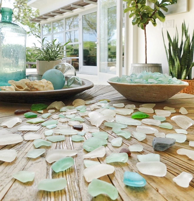 seaglass color scheme inspiration