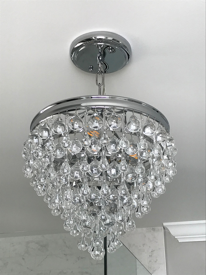 Bathroom Lighting Bathroom Lighting Ideas Tear Drop crystal chandelier Bathroom Lighting sources Bathroom Lighting #BathroomLighting #Bathroom #Lighting