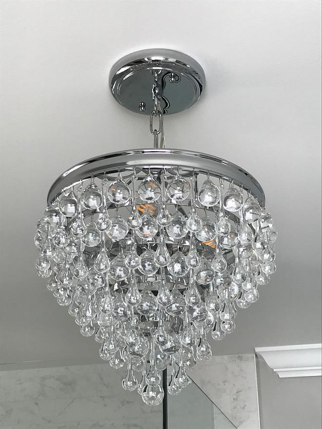 Bathroom Lighting Bathroom Lighting Ideas Tear Drop crystal chandelier Bathroom Lighting sources Bathroom Lighting #BathroomLighting #Bathroom #Lighting