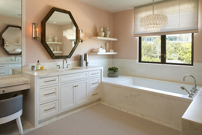 Blush Pink Bathroom Blush Bathroom Color scheme Blush Pink Bathroom Color scheme Blush Pink Bathroom Ideas #Colorscheme #BlushBathroom