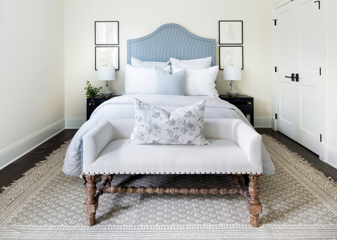 Neutral Traditional Bedroom Paint Color