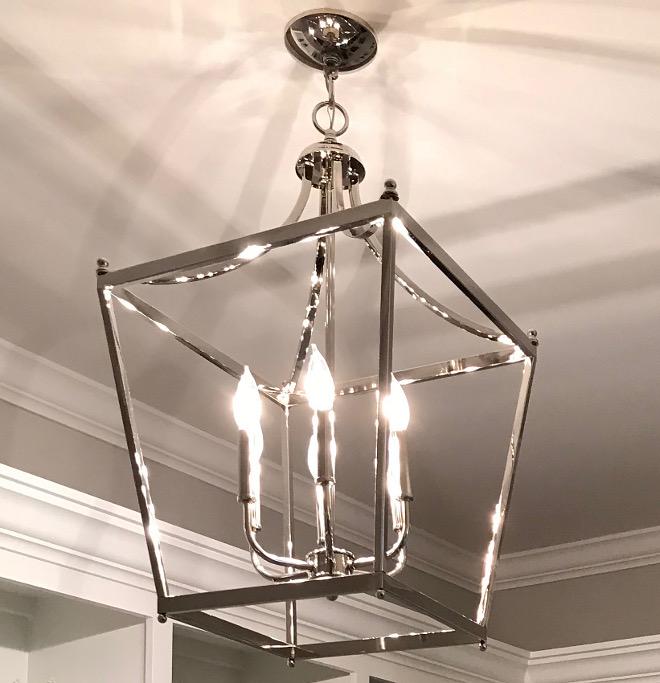 Lighting Pendant Lantern Polished Nickel Kitchen Pendants Foyer Pendants Hall Pendants Bathroom Pendants #Lighting #Pendantlighting #Lantern #PolishedNickel