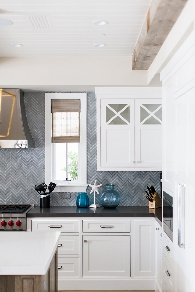 Kitchen Cabinet Kitchen Cabinets are Paint Grade, Face framed throughout with upper cabinets with X insets #kitchencabinet #kitchen #cabinet #Cabinets #PaintGradecabinet #Faceframedcabinet #uppercabinets #Xinsets