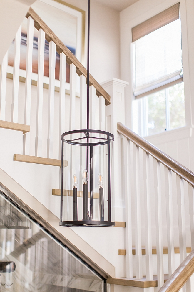 Staircase Lighting Staircase Lighting Staircase Lighting cylinder glass pendant light Oil Bronze Staircase Lighting #StaircaseLighting #lighting #cylinderglasspendantlight