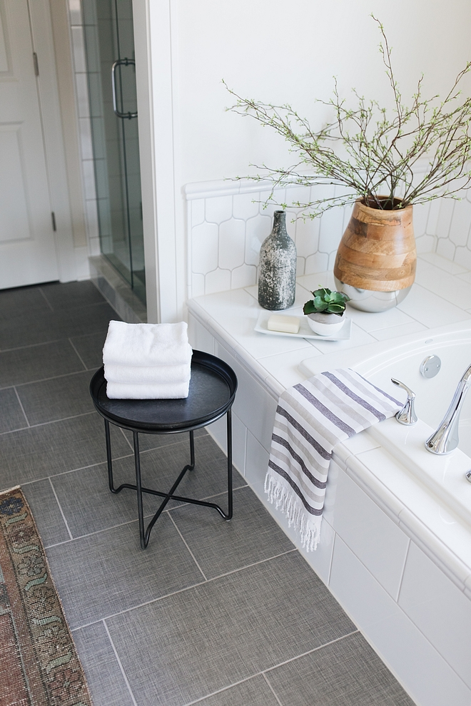 Bathroom Floor Tile Loft Cement Porcelain Wall and Floor Tile 11 x 23 in The Tile Shop Bathroom Floor Tile Bathroom Floor Tile Bathroom Floor Tile #Bathroom #FloorTile