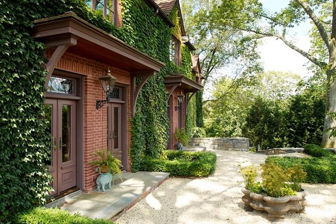 Brick unpainted brick exterior trim color ideas