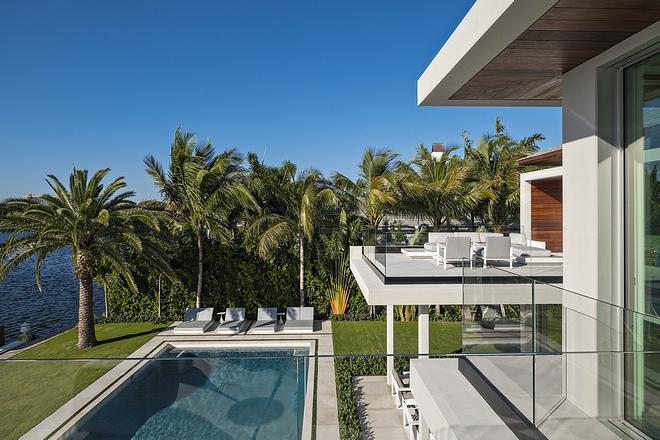 Modern Backyard View