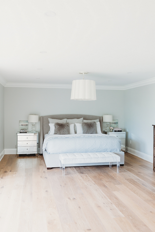 Benjamin Moore OC 52 Gray Owl The Master Bedroom is painted Benjamin Moore OC 52 Gray Owl Benjamin Moore OC 52 Gray Owl #BenjaminMooreOC52GrayOwl #BenjaminMooreOC52 #BenjaminMooreGrayOwl #BenjaminMoore #Paintcolor
