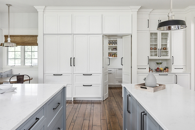 Hidden walk in pantry Kitchen cabinet Hidden walk in pantry Kitchen pantry #Hiddenpantry #pantry Kitchenpantry #kitchen
