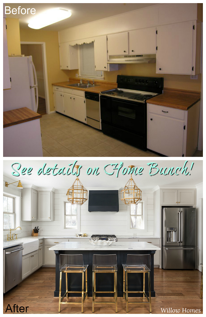 Before After Small Farmhouse Style Home Renovation Home Bunch