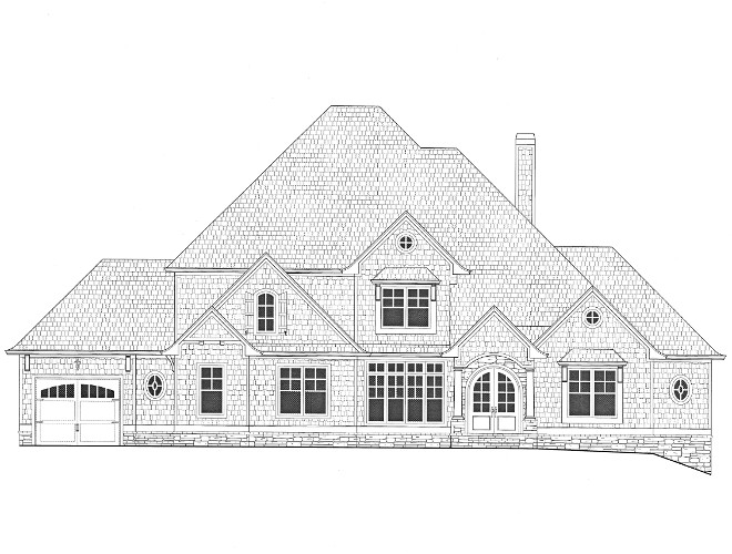 Front Elevation New Home Floor Plan Front Elevation New Home Floor Plans Front Elevation New Home Floor Plan details on Home Bunch #Front Elevation #NewHome #FloorPlan