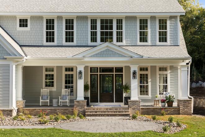 Grey Shingle Home
