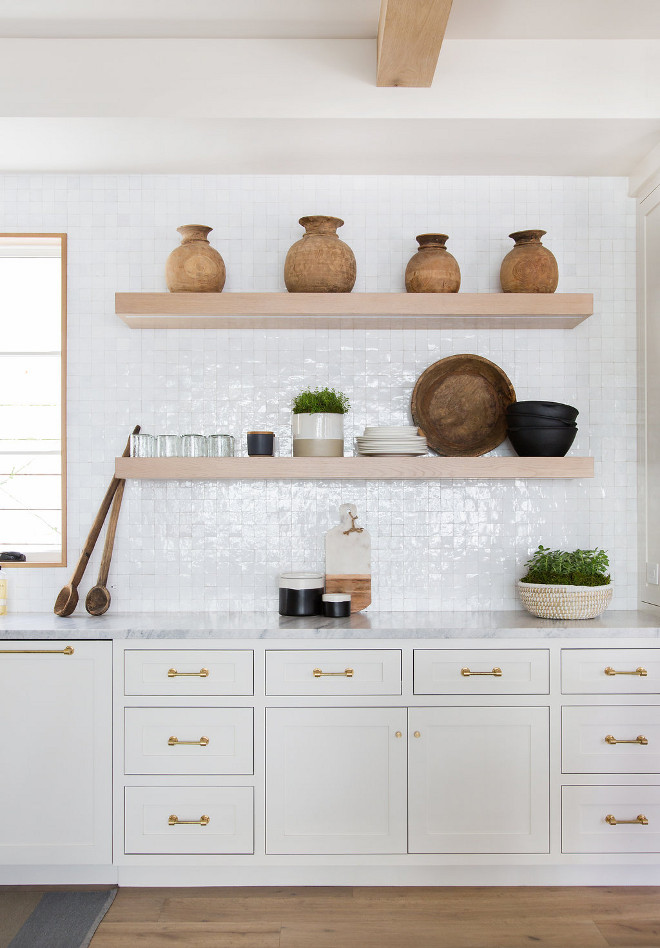 Kitchen Floating Shelf Decor
