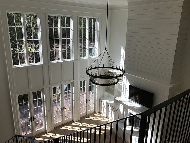 Windows and French doors are Windsor Pinnacle clad (exterior color is linen) #windows #Frenchdoors