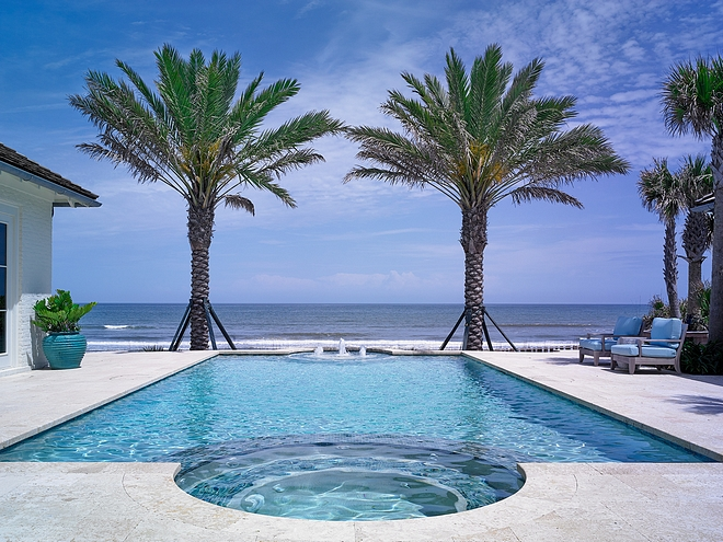 Ocean view Pool Design Ideas
