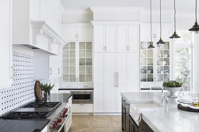 Kitchen cabinets are Benjamin Moore OC-17 White Dove Kitchen cabinets are Benjamin Moore OC-17 White Dove #Kitchencabinets #BenjaminMooreOC17WhiteDove