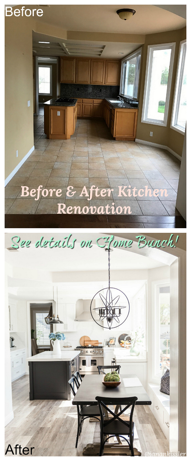 Before and after Kitchen renovation pictures Before and after Kitchen renovation picture ideas Before and after Kitchen renovation inspiration #Beforeandafter #BeforeandafterKitchen #Beforeandafterrenovation #Beforeandafterpictures