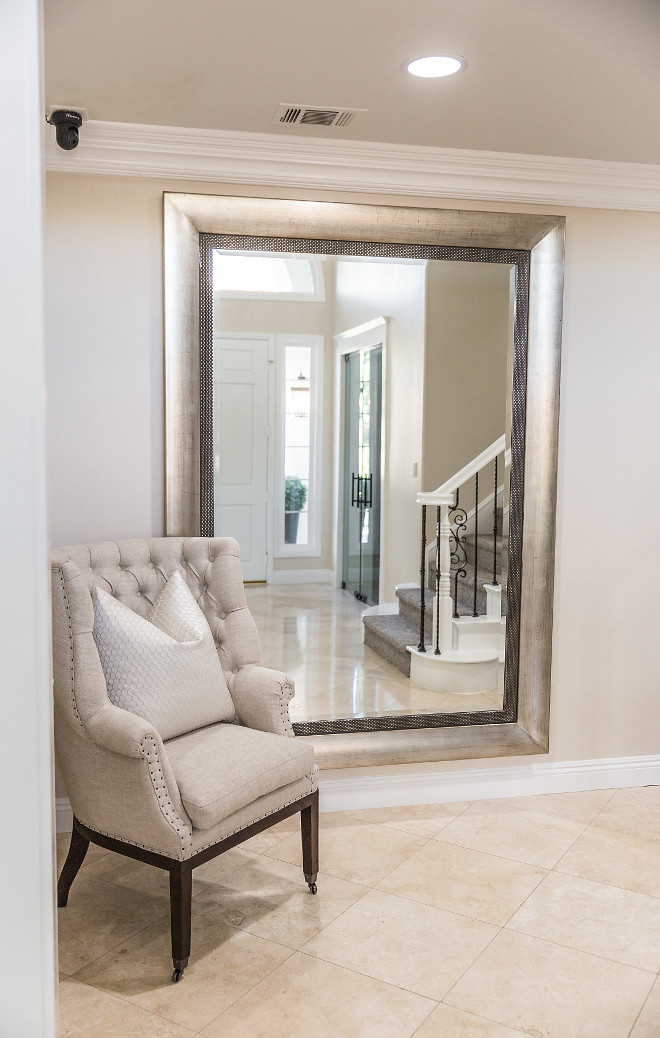 Floor Mirror Foyer Mirror Floor Mirror Foyer Mirror Ideas #FloorMirror #Foyer #Mirror