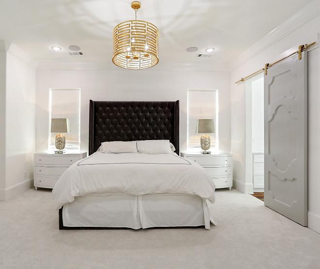 Master Bedroom with Barn Door Master Bedroom with Barn Door #MasterBedroomBarnDoor #MasterBedroom #BarnDoor