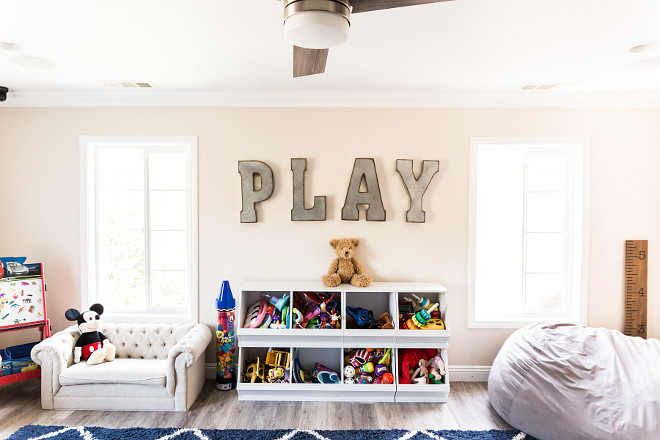 Playroom Renovation This was the first room I completed because I wanted my children to have a room they could always feel safe and play in and learn and grow Playroom Renovation #PlayroomRenovation