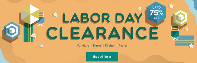 Wayfair Labor Day Sale
