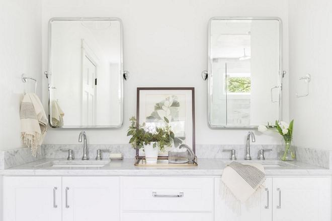 Bathroom Mirrors sources on Home Bunch 2540 Love ©AlyssaRosenheck #Bathroommirrors