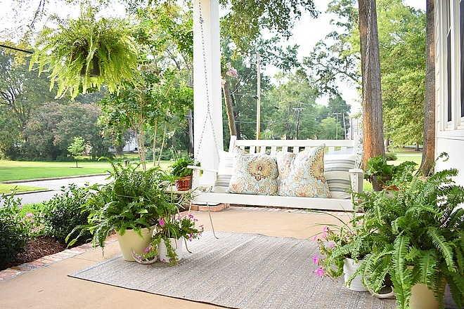 Porch swing how to style porches with swing Porch swing #porchswing #porch #swing