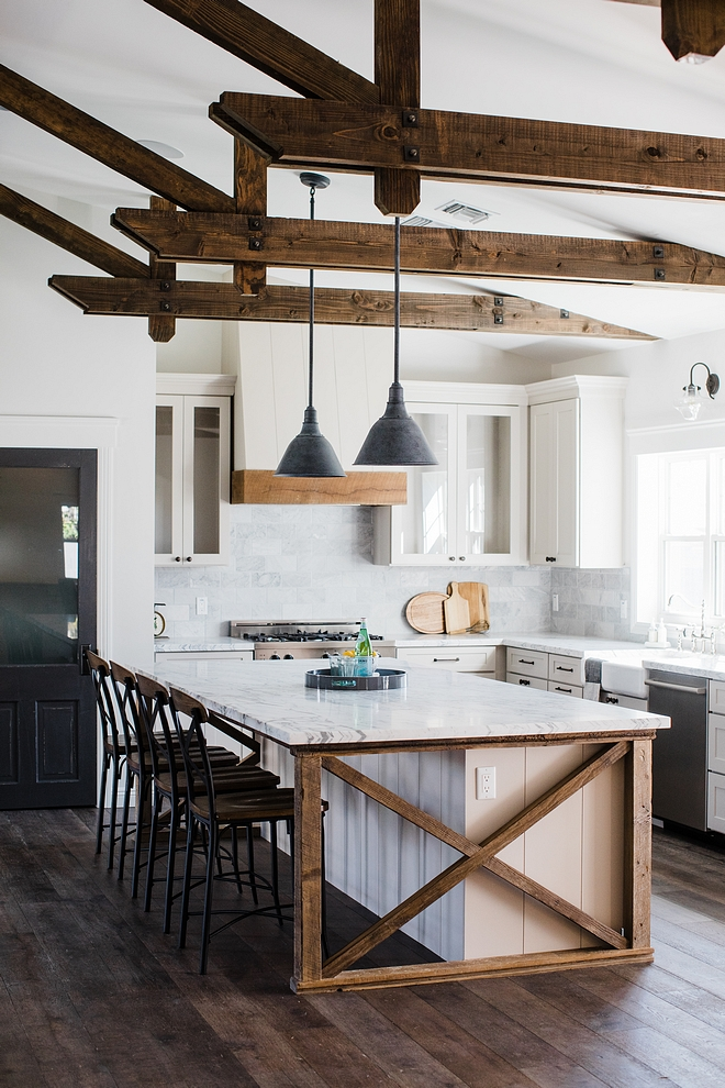 Kitchen Exposed decorative beams Exposed decorative beam ideas Barnwood Beams Exposed decorative beams #BarnwoodBeam #BarnwoodBeams #Exposeddecorativebeams #Exposedbeams #kitchen #kitchenbeams