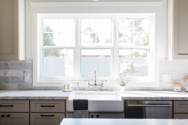 Kitchen window Three windows above kitchen sink #kitchnewindow #kitchenwindow #kitchen #window