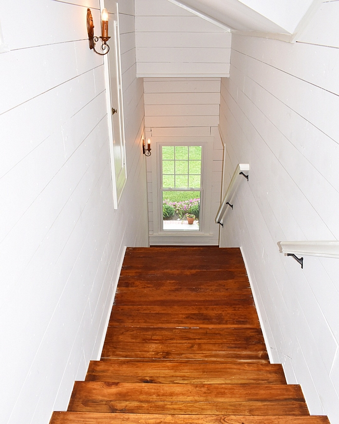 Snowbound by Sherwin Williams All woodwork in the home is original to the cottage, but was covered by layers of wallpaper and paneling It was milled from one of the first sawmills in Louisiana All walls are painted Snowbound by Sherwin Williams