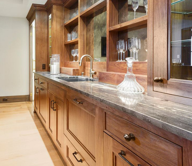Countertop Countertop is Titanium Granite #Countertop #TitaniumGranite