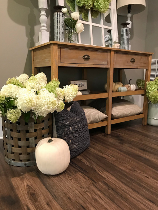 Fall Foyer Console Table