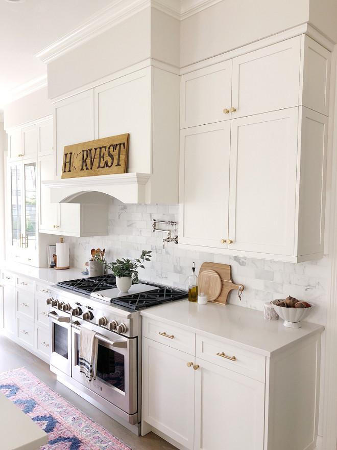 Fall Kitchen Mantel Decor