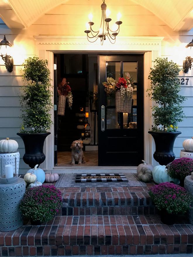 Fall Porch Fall Front Door
