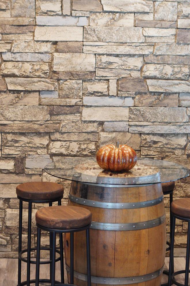 Fall Wine Room Decor