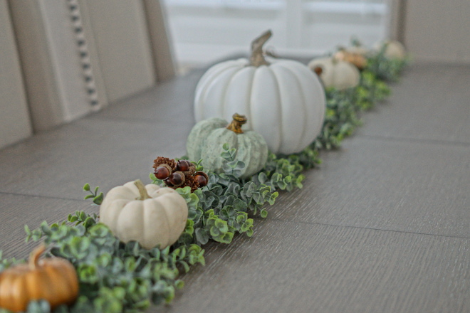 Faux Pumpkin and greeney centerpiece Faux Pumpkin and greeney centerpiece ideas Tabletop Faux Pumpkin and greeney centerpiece #FauxPumpkincenterpiece #greeneycenterpiece