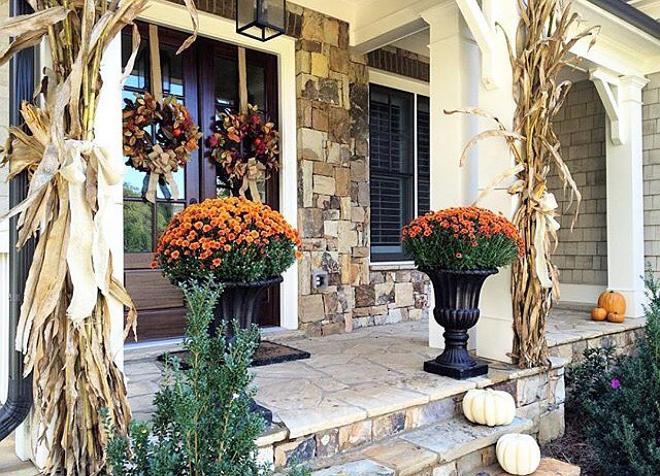 Festive Fall Porch Decor